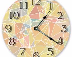 Home Decor Clocks Cool Wall Clock Etsy
