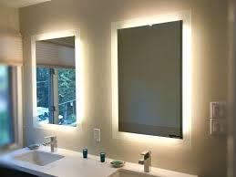 bathroom mirror with lights behind bathroom mirrors lights behind bathrooms vanity mirror with lights