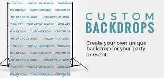 personalized photo backdrop custom printed backdrops banners table covers gifts and more