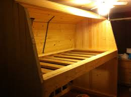 Wooden Bunk Bed Plans Free by Ana White Classic Red Barn Bunk Bed Diy Projects