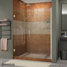 Frameless Shower Doors For Bathtubs Bathroom Luxurious Bathroom Design With Lowes Frameless Shower