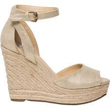 the 1964 denim company women u0027s one bar wedge sandal big w