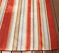 Stripe Indoor Outdoor Rug Appealing Striped Indoor Outdoor Rug On Attractive Home