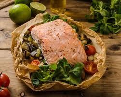 cuisine pavé de saumon recette saumon en papillotes