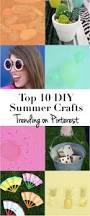 trending summer diy crafts on pinterest summer crafts
