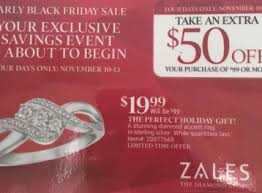 early black friday deal from zales ring only 19 99