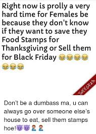 how you say the government and you on food stamps