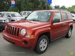 orange jeep 2008 jeep patriot sport in sunburst orange pearl 521910