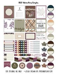 erin condren black friday sale free printable autumn bonus sampler planner stickers pdf jpg and