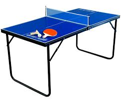 stores that sell ping pong tables complete folding mini table tennis includes 2 paddles and balls