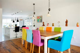 Colored Dining Room Chairs Colorful Dining Chairs For Your Dining Room Home Decor Colored