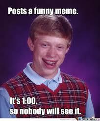 Funny Meme Maker - bad luck insomniac meme maker by recyclebin meme center