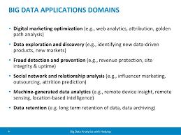 big data applications domains u2022