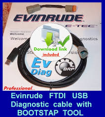 professional evinrude etec diagnostic cable set ficht johnson