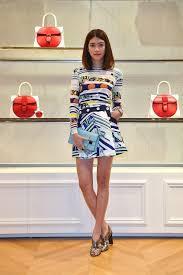hikari mori japanese fashion star at michael kors fall 2017 new