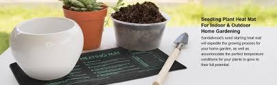 amazon com seedling plant heat mat for indoor u0026 outdoor home