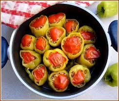 cuisine turque en poivrons farcis à la turque du sel dans ma cuisine