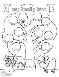 best 25 family tree worksheet ideas on pinterest family tree