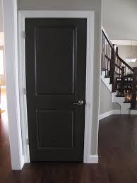 Colored Interior Doors Interior Design Terrific Single Woods Black Interior Doors With