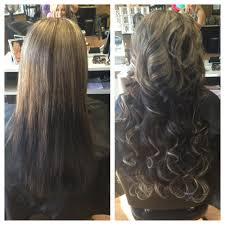 Before After Hair Extensions by Looking For Extra Length Ans Body Before U0026 After Her Tape In