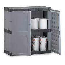 small outdoor plastic storage cabinet luxury rubbermaid storage closet plastic cabinet with double door