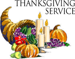 thanksgiving services at community of lutheran church in