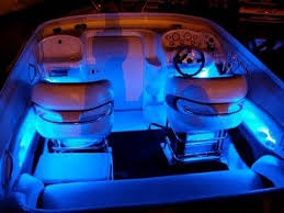 Marine Led Strip Lights Blue Led Boat Kit Interior Waterproof And Wireless By Lizardleds