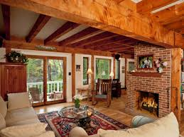 decorations rustic country decor of living room with hardwood