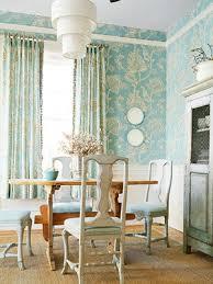 modern wallpaper blue white dining room botanical pri u2026 flickr