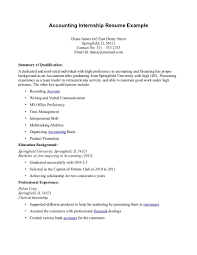 Resumes For Jobs With No Experience by Cover Letter Sample For Internship Template Happytom Co