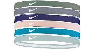sport headbands lyst nike swoosh sport headbands 6 pack in blue