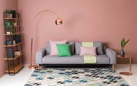Pink Living Room by How To Use Modern Pastels To Soften Your Living Room