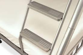 Buy Serene Oslo Silver Metal Three Sleeper Bunk Bed Online CFS UK - Three sleeper bunk bed
