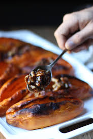 gluten and dairy free thanksgiving recipes sweet potatoes with pecan syrup gluten free dairy free paleo