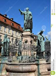 Bamberg Germany Map by Maximiliansbrunnen In Bamberg Germany Editorial Stock Image