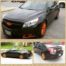 silver chevy malibu with black rims cars and trucks pinterest