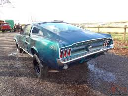 1967 ford mustang fastback project for sale 1967 ford mustang fastback fast back lhd 351 cleveland v8
