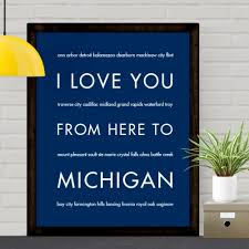 Home Decoration Products Online Michigan State Home Decor Gift Idea Hopskipjumppaper