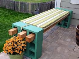 Wood Garden Bench Plans by 19 Simple Diy Projects Made Of Concrete Blocks That Will Surprise