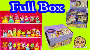 Blind Bag Littlest Pet Shop Full Box Unboxing Littlest Pet Shop Cozy Snackers Blind Bags Lps