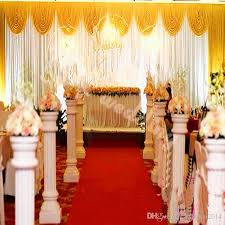 wedding backdrop china wedding decorations props 3m 6m sequins edge design fabric