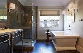 wood plank tile wall beautify bathroom with wood plank tile