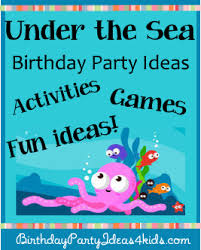 the sea party ideas undertheseaparty png