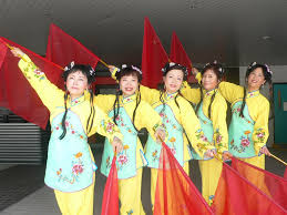 Dancing Flags Hkust Staff Association Chinese Dance