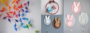 décoration de chambre de bébé l origami chambre bébé quand le pliage se la joue déco idées