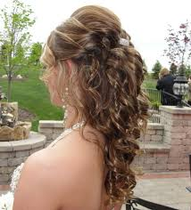 prom hairstyles for short hair half up half down haircuts