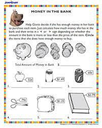 money skills worksheets worksheets