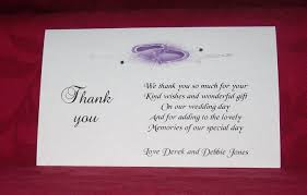 wedding thank yous wording wedding sle wedding thank you cards for money wording