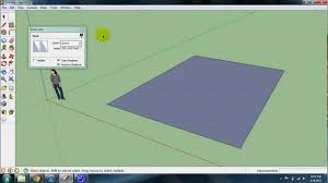 Square Feet To Square Meter Calculating Square Footage In Sketchup Youtube
