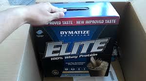 Dymatize Elite Whey 10 Lbs unboxing bodybuilding 17 on optimum nutrition 10 lb whey dymatize